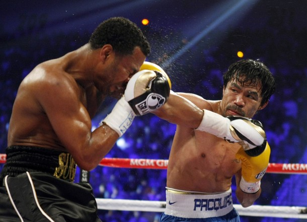 Shane Mosley Manny Pacquiao MGM Grand Garden Arena