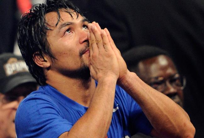 Manny sait que Dieu n'aime pas la bagarre...