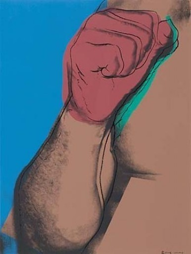 ANDY WARHOL Muhammad Ali: The Fist, 1978