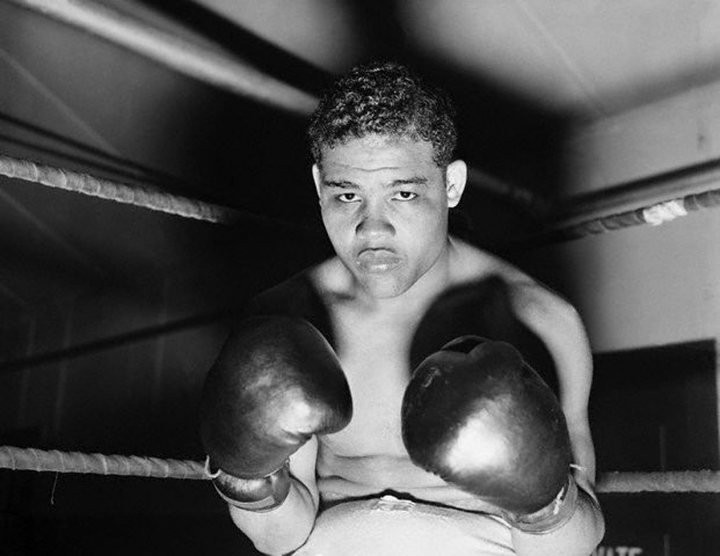 Joe Louis in the Ring
