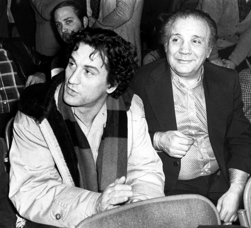 Robert DeNiro et Jack LaMotta dans les années 80