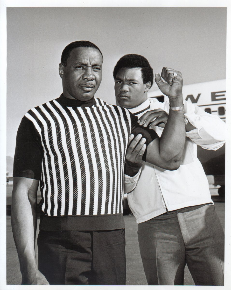Sonny Liston et George Foreman en 1969