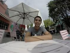On a bu un coup avec Yoann Boyeaux, boxeur français à Buenos Aires