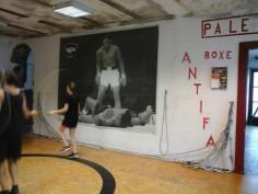 Benvenuti à la Palestra Popolare Antifa de Turin