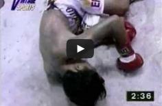 OUPS : on a retrouvé la première défaite de Manny Pacquiao