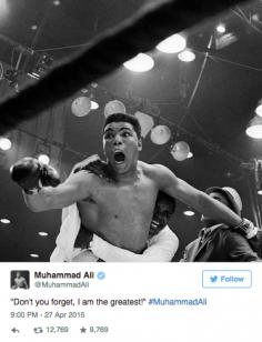 Ali, Floyd et la réponse du berger à la bergère