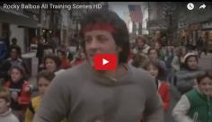 BOUM : toutes les scènes d'entraînement de Rocky mises bout à bout