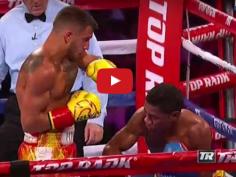Toujours un plaisir de voir boxer Lomachenko