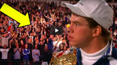 MYTHIQUE : il s'enfile un hot-dog dans le public quand on lui propose de boxer Tommy Morrison