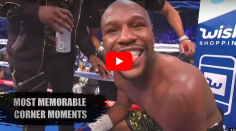 SAIGNANT : les meilleurs moments dans le coin des boxeurs