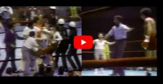 ZARATE-ZAMORA : de la grande boxe, 1 KO, 1 gars en slip, 1 émeute