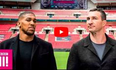 RETROUVAILLES : Joshua et Klitschko, 1 an après