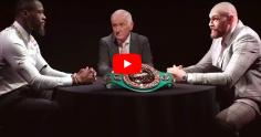 MAGIQUE : Tyson Fury bouffe le cerveau de Deontay Wilder pendant 23 minutes