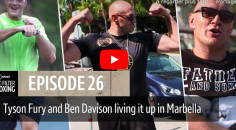 MAN CRUSH : Tyson Fury s'entraîne à Marbella <3