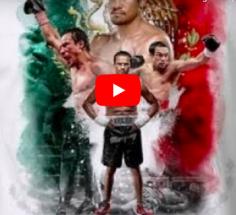 HALL OF FAME : On a refait le portrait de Juan Manuel Marquez avec le Cap'tain Crochet