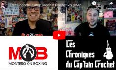FREE SPEECH BOXING : 1h de Boxing IQ avec le Cap'tain Crochet & Michael Montero