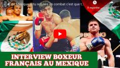 SOMBRERO : Boxe Attitude a retrouve Nathan Benichou au Mexique
