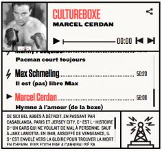 [DIRECT DANS LES OREILLES] Podcast #7 : Marcel Cerdan, l'hymne à l'amour (de la boxe)