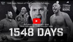 QUEL PANACHE : 1548 Days – Return of The Gypsy King