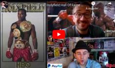THE REAL DEAL : le Cap'tain Crochet et Antoine de 130 livres racontent Evander Holyfield