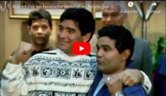 AD10S : le jour où Diego Maradona est monté sur le ring