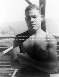 PUNCH-line #9 : Joe Louis par Max Baer