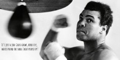 PUNCH-line #1 : Mohamed Ali