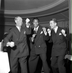 CHIC PIC #34 : Maurice Chevalier, Sugar «Ray» Robinson & Georges Carpentier