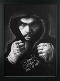 Manny Pacquiao by Raymund Cifra