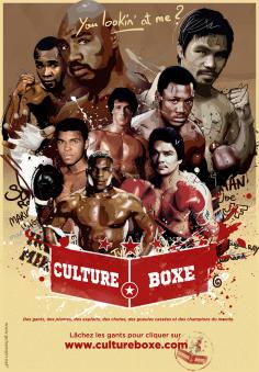Cultureboxe à l'affiche