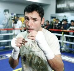 From East L.A. « The Golden Boy » Oscar De La Hoya