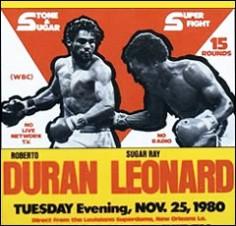 Nouvelle Orleans, 25 novembre 1980. Leonard vs. Duran II