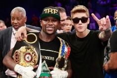 Mais pourquoi Floyd Mayweather traîne-t-il avec Justin Bieber ?