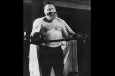 Ernest Hemingway, poing à la ligne