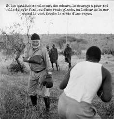 PUNCH-line #3 : Ernest Hemingway
