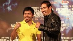 Pacquiao vs. Margarito : début d'une tournée médiatique
