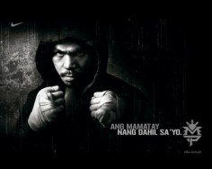 Manny Pacquiao à l'entraînement