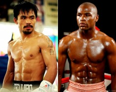Pacquiao Mayweather sur facebook
