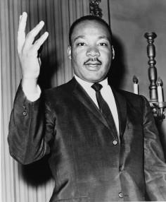 Martin Luther King et son crew de boxeurs