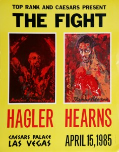 Las Vegas, 15 avril 1985. Hagler vs. Hearns