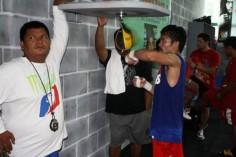 Pacquiao : un extraterrestre à Baguio City