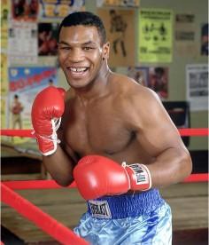 Tyson à l'entraînement