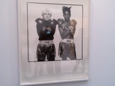 Warhol, Basquiat, Holyfield, Don King et Hugo Chavez